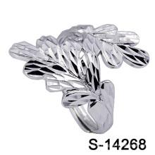 Factory Горячий-Продажа Мода Серебряные Ювелирные Изделия Женщин Кольцо (С-14268)