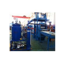 Máquina de grabación en relieve de la línea de producción de Continou del panel de la puerta del garaje