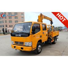 Nuevo camión grúa de carga de cabina doble DFAC