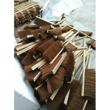 Palm Wire Bamboo Handle Cleaning Brush (YY-563)