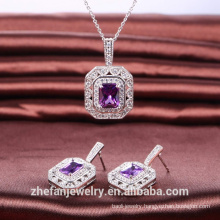 factory OEM available wedding jewelry elegant fancy design necklace women gift