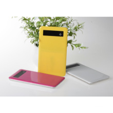 Ultra-Thin Power Bank 5000mAh Polymer Battery Charger -Touch Key