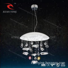Residential lighting Led Crystal pendant lights with CE/RoHS