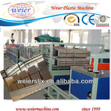 1220mm width pvc wood plastic door production line