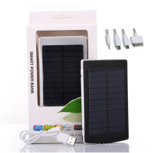 12000mAh Power Bank Solar Mobile Charger