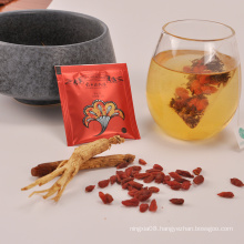 private label ginseng goji Sexual Function Male Enhance tea
