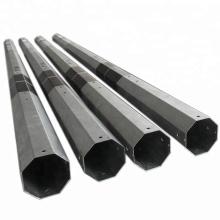 octagonal galvanized steel electrical post
