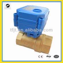 Quick 2-way operating auto electric operated ball valve for Solar thermal,under-floor,rain water,irrigation,plumbing service