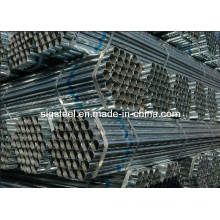 Hot DIP-Galvanized Steel Pipe, Round Galvanized Steel Pipe Trade, Construction Material