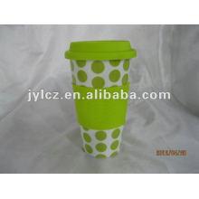 Taza de café de cerámica de 16 onzas