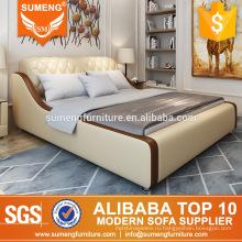 современная кожаная мебель спальни гостиницы