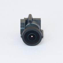 Lente de câmera anamórfica drone
