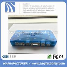 4port Auto USB2.0 Commutateur KVM Mini commutateur USB KVM automatique
