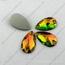 Lead Free Machine Cut Decorative Flat-Back Loose Wholesale Cheap Sew on Beads for Wedding Dress