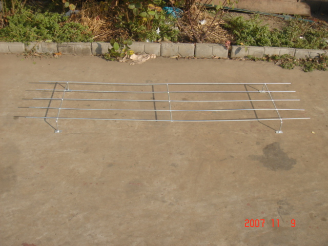 Hot dipped galvanized flower stand
