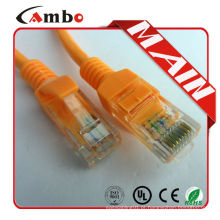 Boa qualidade Preço competitivo Cat 6 cabo de cordão de 30 cm Cabo de alta qualidade de alta qualidade Cat 6 30cm Patch Cord Cable