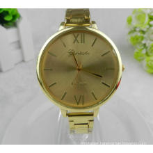 Yxl-415 New Fashion Quartz Stainless Steel Ladies Wrist Watch Gold Plate Thin Band Dress Women Watch