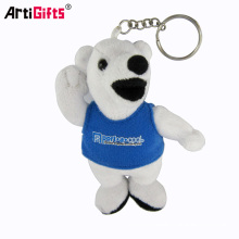 Wholesale Promotion Bulk Custom Mini Animal Toy Bear Plush Keychain