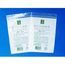 Saco personalizado da medicina do Zipper do LDPE