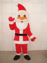 New Style Christmas Santa Claus Mascot Costume High Quality Party and Commercial Activities Supply Adult Size