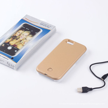Mais recente telefone caso LED Selfie caso para iPhone6/6plus