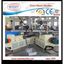 Twin screw extruder for WPC PVC profile