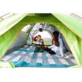 Tente de randonnée imperméable respirante de dîner de camping automatique extérieur