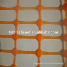 Malla de advertencia de alta calidad malla / cerca de seguridad de plástico naranja