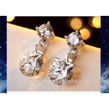 Pour boucles d'oreilles femme 2016 nouvelle bijoux cz pierres boucles d'oreille
