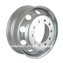Rueda de la rueda de acero tubeless del camión 22.5 * 6.75
