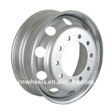 "Steel Truck Wheel from 17.5"" to 24.5"" with different PCD,Offset and Vent hole"