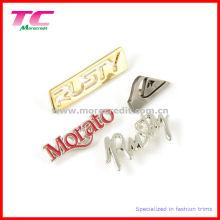 Kundenspezifisches Metallmarken-Logo für Geldbeutel