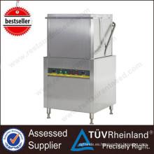 De Buena Calidad Lavavajillas industrial de la tabla de la lavadora de la limpieza del plato del certificado del CE de la buena calidad