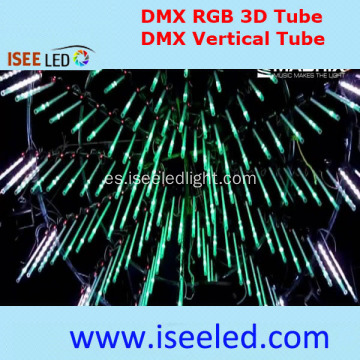 Music 3D DMX Tube Light Compatible con Madrix