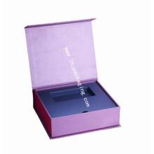 Custom Printing Clamshell Cosmetic Packaging Lipstick Box