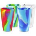 Kundenspezifische Silikon-Pint-Glasschale