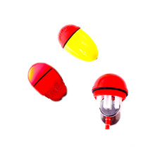 FSFL001 flotador plástico de pesca con luz