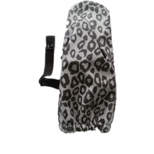Black and White PU Rain Mitten for Baby/Child