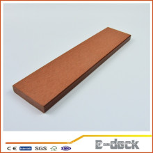 Crack resistance waterproof formaldehyde free eco-friendly wpc solid decking