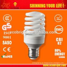 Quente! economia de Mini completo espiral 7mm 15W lâmpada SKD 10000H CE qualidade