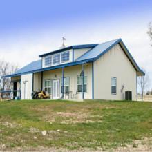 Construção de casa de fazenda de estrutura de aço (KXD-SSB1401)
