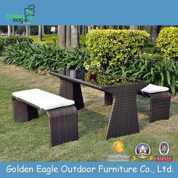Hot Sales Patio Set PE Wicker End tafel