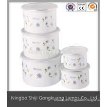 high quanlity enamel shaving bowl mixing
