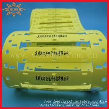 Étiquettes de marqueur résistant à l'huile de qualité militaire