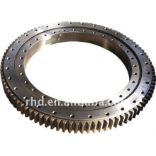 external teeth single row four point slewing bearing