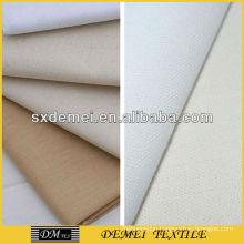 white canvas fabric