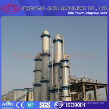 Équipement de déstilation pour l'alcool / l'éthanol Ingénierie clé en main Equipement d'alcool et d'éthanol