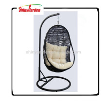 High Quality Outdoor rattan Hanging Egg Chair