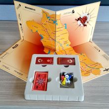 High Quality CMYK Printing Custom Paper Board Game