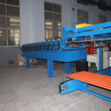 Mesin Roll Panel Roll Forming Dengan Auto Stacker